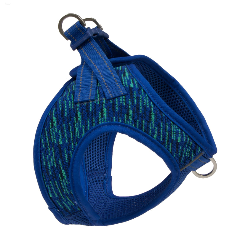 Picture of Flex Knit™ Vest Harness in Color Blue Wave by Pup Crew Pro for Mission Pets, from Harness