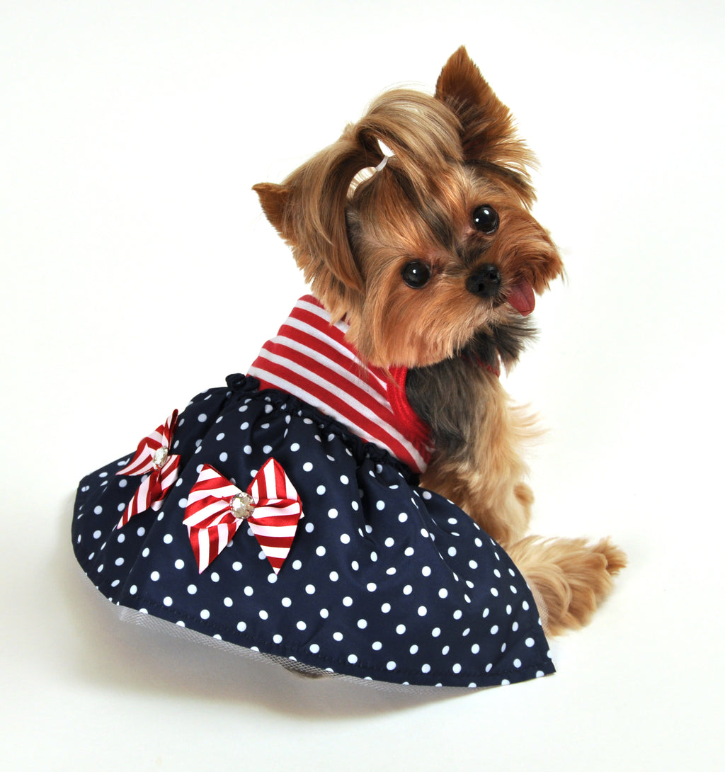 SimplyDog Americana Dress