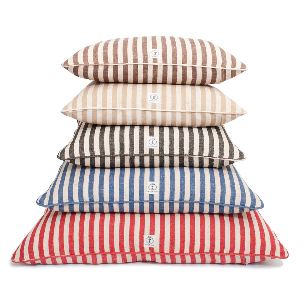 Vintage Stripe Envelope Dog Bed Cover