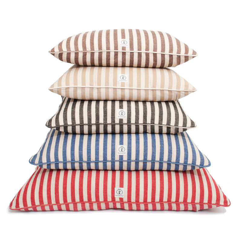 Vintage Stripe Envelope Dog Bed