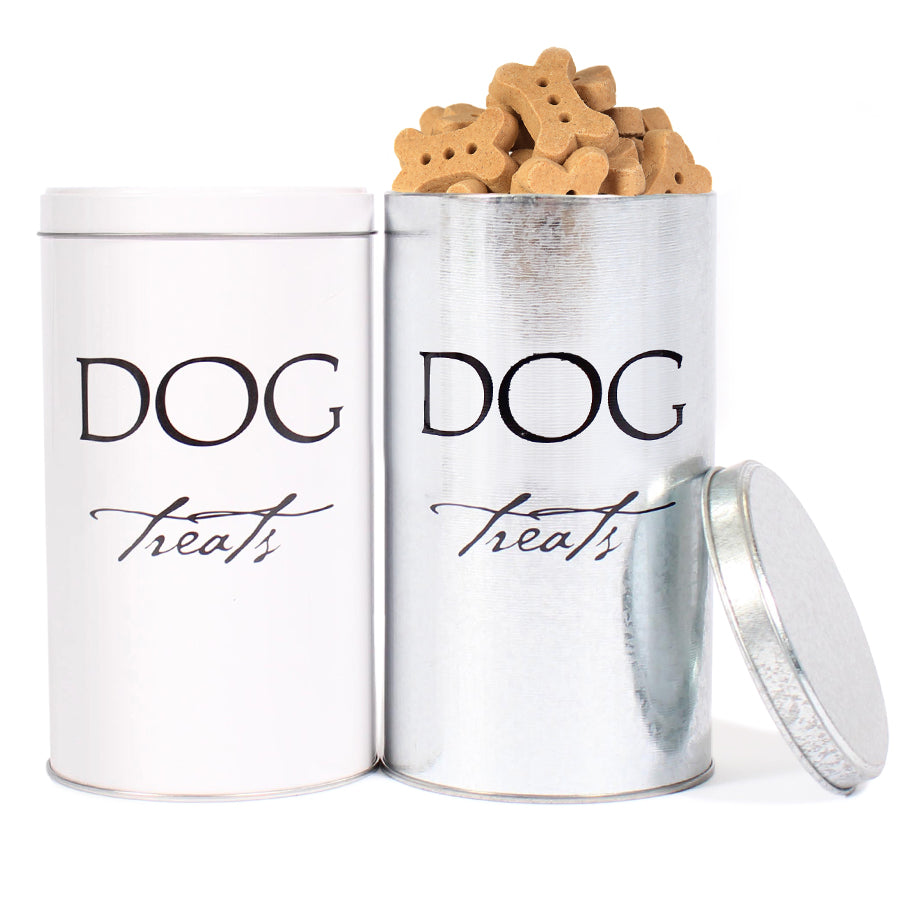 Classic Dog Treat Tin