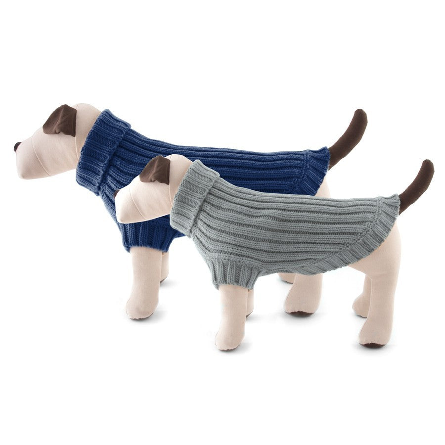 Vintage Ribbed Dog Sweater