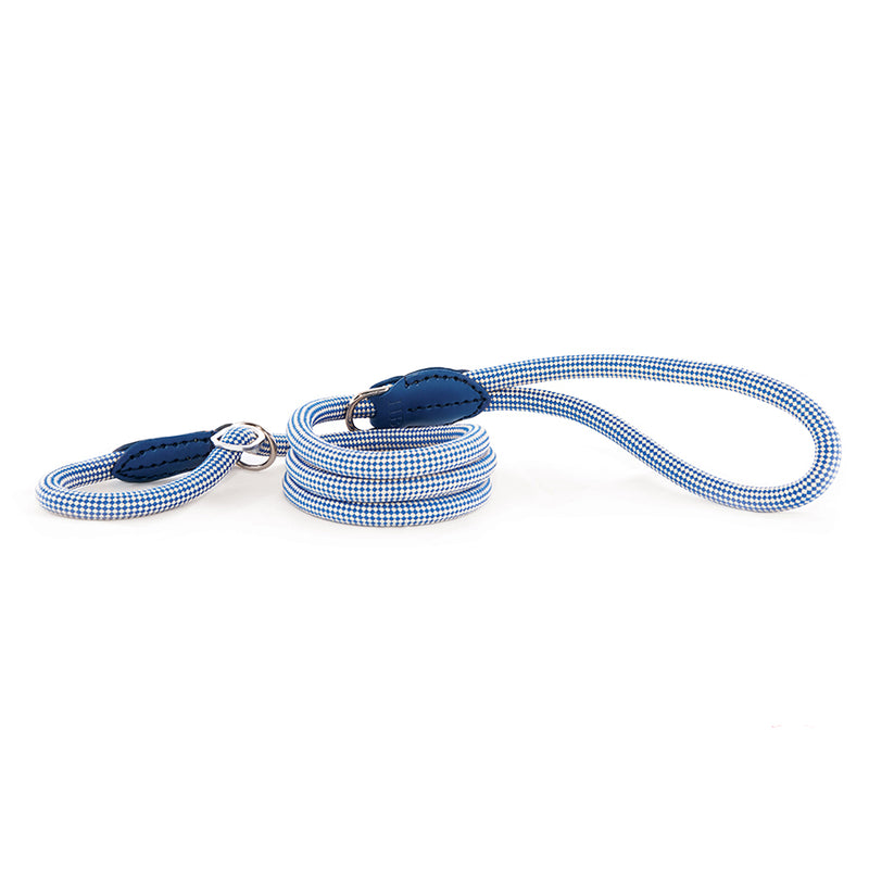 Harry-Barker-Durable-Rope-Dog-Lead-Blue