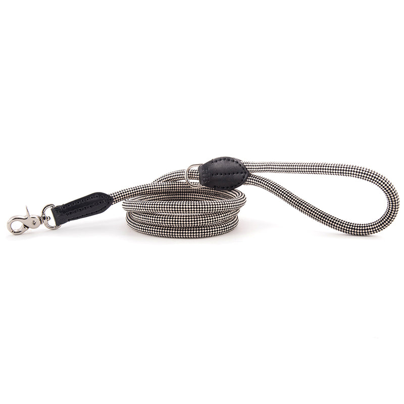 Harry-Barker-Durable-Rope-Dog-Leash-Black