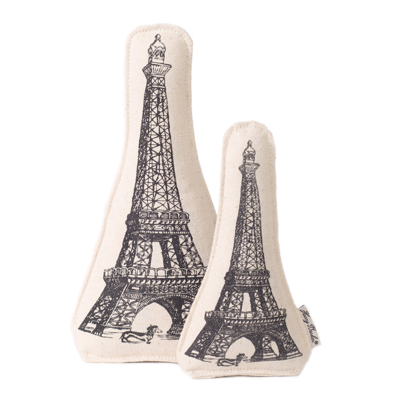 Eiffel Tower Dog Toy