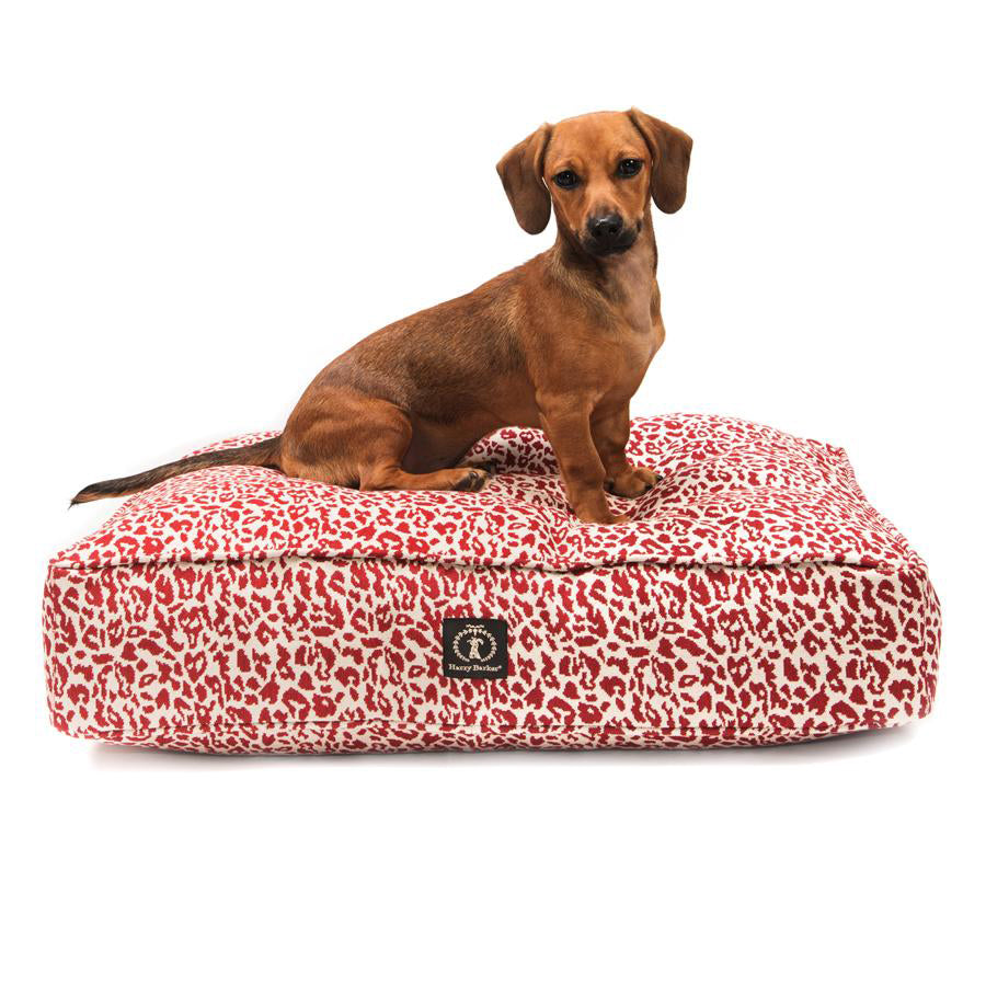 Leopard Heather Rectangle Bed