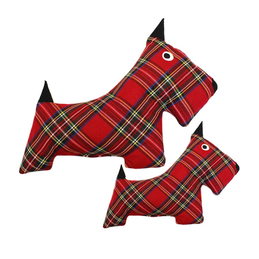 Plaid Scottie Toy