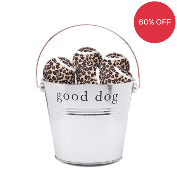 Leopard Dog Play Balls Pack of 15