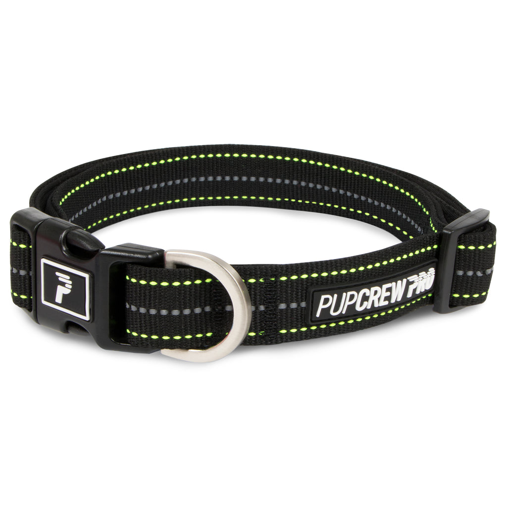 Picture of Pathfinder Collar in Color Blue Wave by Pup Crew Pro for Mission Pets, from Collar