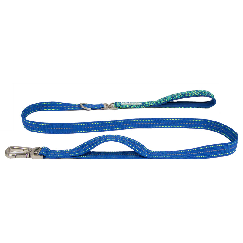 Picture of Pathfinder Leash in Color Blue Wave by Pup Crew Pro for Mission Pets, from Leash