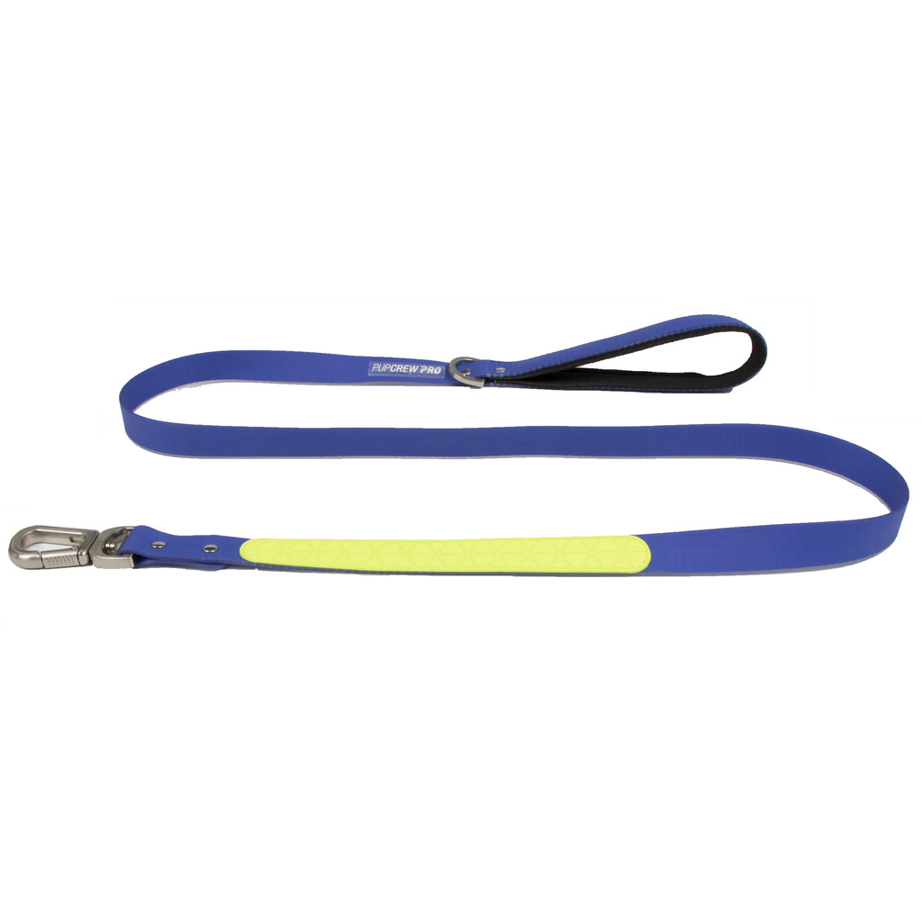 Picture of Stormchaser Leash in Color Blue Wave by Pup Crew Pro for Mission Pets, from Leash