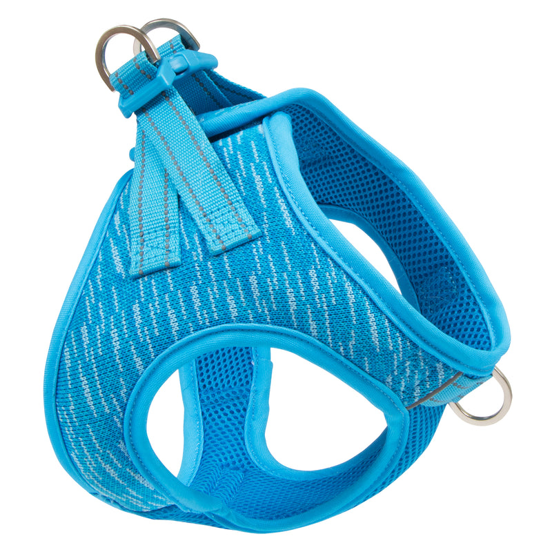 Picture of Flex Knit™ Vest Harness in Color Sky Blue by Pup Crew Pro for Mission Pets, from Harness