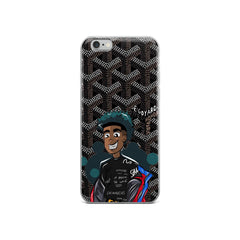 Aspect Zavi black Goyard Case iphone
