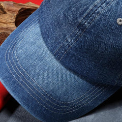 Denim Baseball Cap Brand New Solid Color Casual Jeans Hat (3 colors)