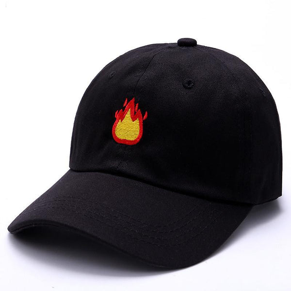 So Damn Lit Fire Emoji Hat
