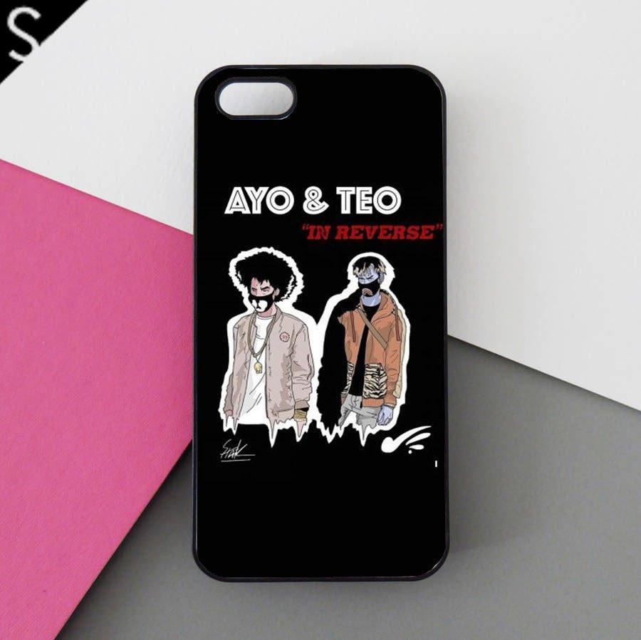 Ayo and Teo cell phone case (iphone)