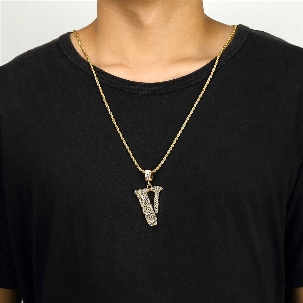 Vlone Necklace Pendent