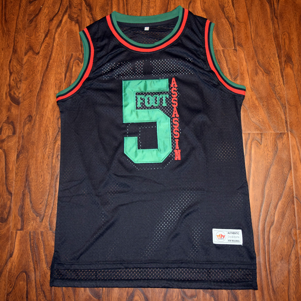 Phife Dawg #5 Foot Assassin Basketball Jersey Stitched