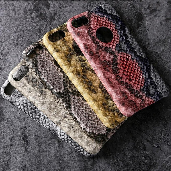 Leather snake Skin (4 colors)