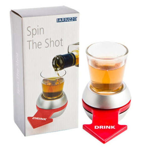 Spin Shot Glass Drinking Game
