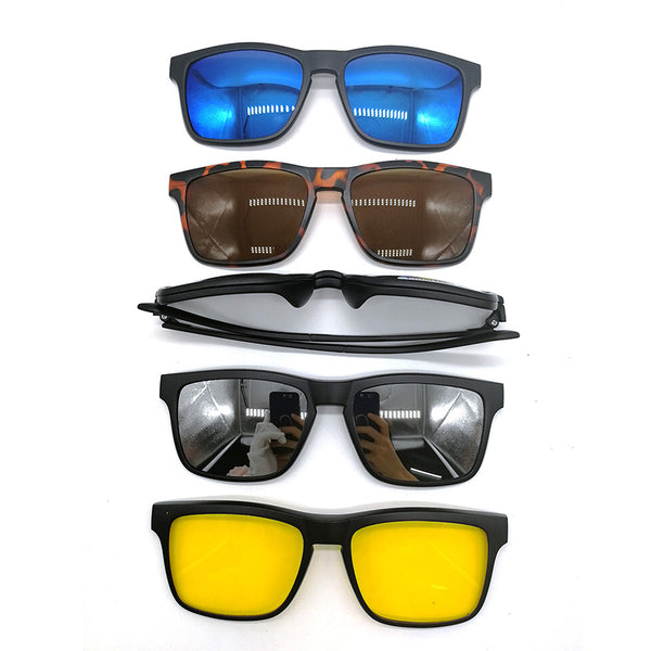 5+1 Clip On Sunglasses