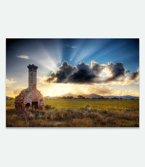 Chimney at Little River - Bells Fine Art