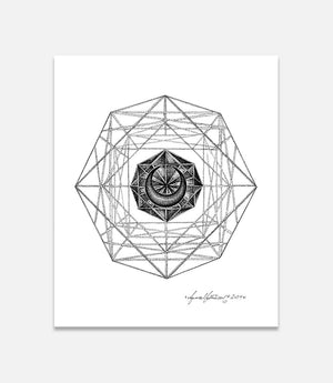 Geometric Chaos - Bells Fine Art