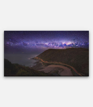Teddy's Lookout, Lorne, Milky Way - Bells Fine Art