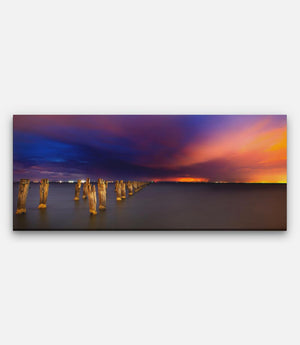 Clifton Springs Night Storm - Bells Fine Art