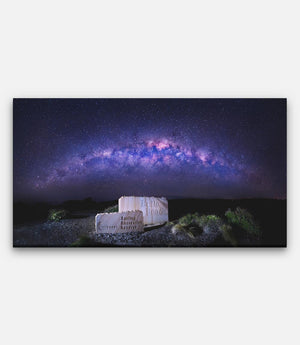 Bells Beach Sign Milkyway - Bells Fine Art
