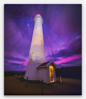 Aireys Inlet Split Point Lighthouse Aurora - Bells Fine Art