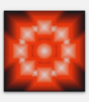 16 Point Square Sun - Bells Fine Art