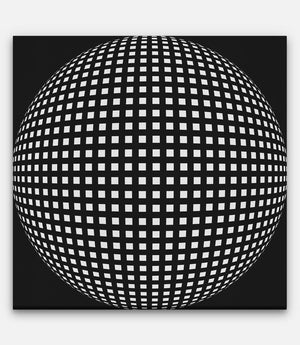 Grid of Sphere - Bells Fine Art