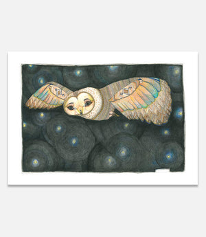 Night Owl | Limited Edition - Bells Fine Art