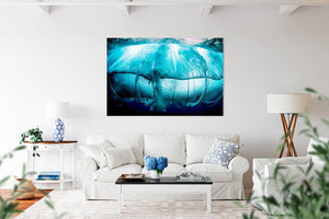 Teahupo'o Tahiti under water tube - Bells Fine Art