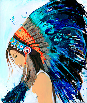 Indian Head-dress - Bells Fine Art