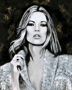Kate Moss - Bells Fine Art