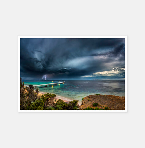 Queenscliff Storm lightning