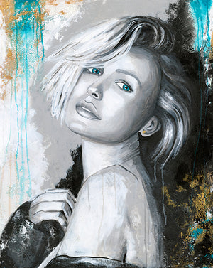 Lara Bingle - Bells Fine Art