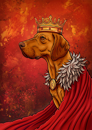 Portrait of a King | Limited Edition - Bells Fine Art