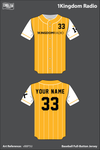 1Kingdom Radio Full Button Baseball Jersey - vB8P5U