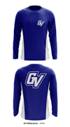 Grand Valley State University Color Guard Store 1 Long-Sleeve Performance Shirt - 7PqYA3