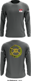 2-13 Cavalry Regiment Long-Sleeve Performance Shirt - LMJTJZ