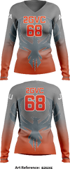 2GVC Women's Long Sleeve Volleyball Jersey - AF2gY3