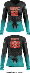 2GVC Women's Long Sleeve Volleyball Jersey - bZ62Xe