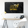 Alabama State Softball Flag - byECck