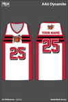 AAU Dynamite Men's Reversible Basketball Jersey - 3gtLKq