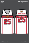 AAU Dynamite Men's Reversible Basketball Jersey - P9ncxR