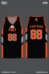 ATD Men's Basketball Jersey - YggSm8