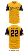 Alaska Drillers Store 1 - Full Button Baseball Jersey - aGKnZR